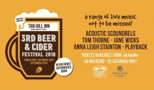 3rd beer and cider festival