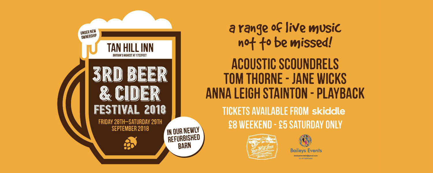 tan hills 3rd beer and cider festival