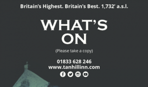 Tan Hill Inn - Whats On Cards