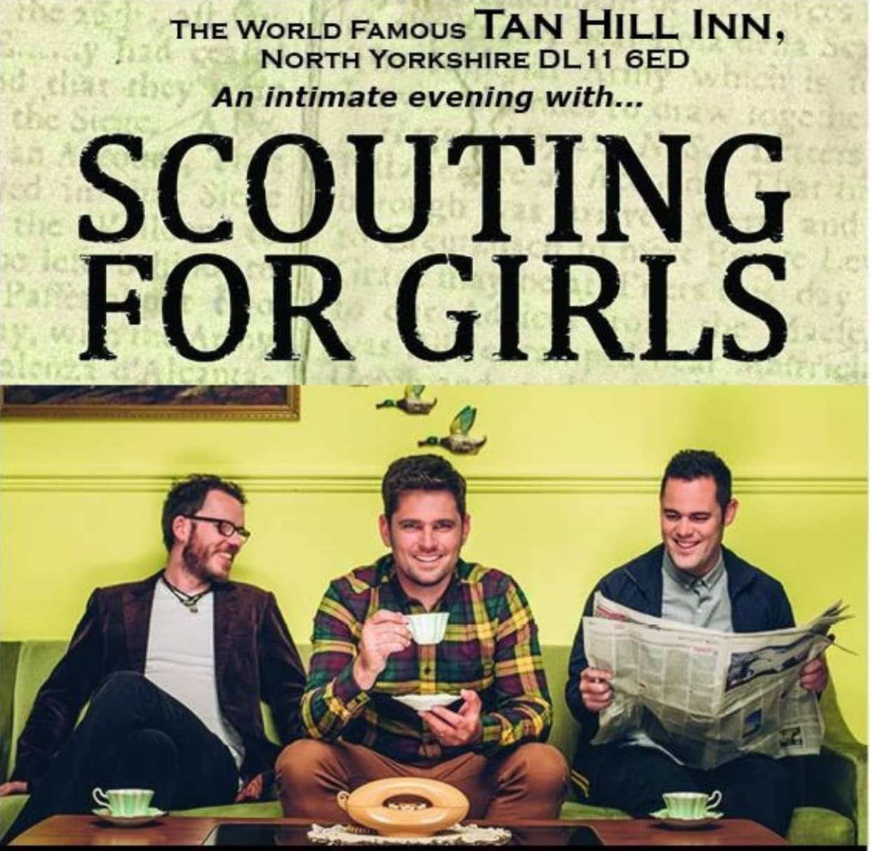 Scouting for Girls at Tan Hill Inn